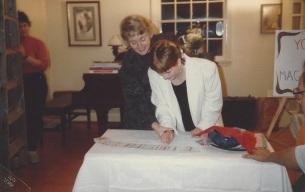Len and Con's 35th anniversary celebration