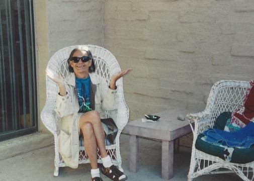 Connie visiting Tucson