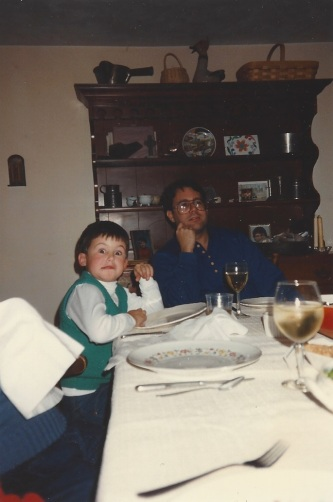 Funny Chris at the dinner table in H-ville