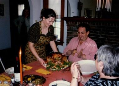 Yo's first Thanksgiving, Watertown, MA