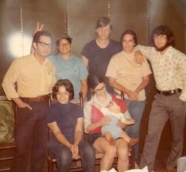 Farina family, circa 1973