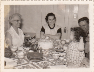 Mimi, Connie, Abby and Sumner
