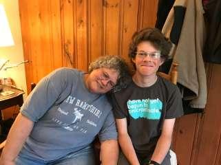 Aunt Sas and Harry