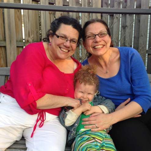 Abby, Jo and Anna in Detroit, 2014