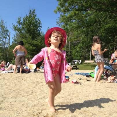 Anna at Harrisville Pond