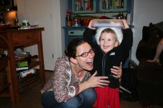 Auntie Jo and Anna