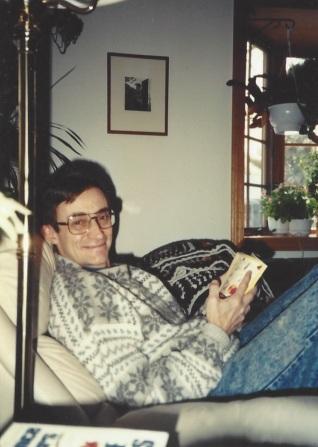 Jeff reading, Keene, NH