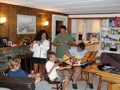 More family music time