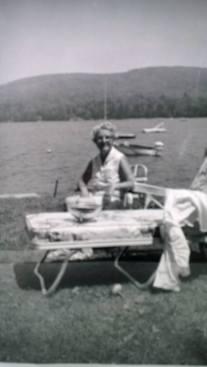 Mimi at Granite Lake