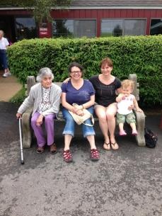 Four generations, redux
