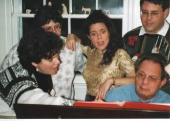 Farinas at the piano