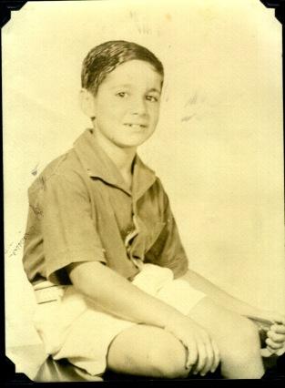 Len, Age 9 (?)