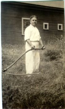 Grampa with Scythe