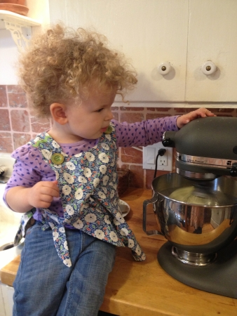 Learning to bake at an early age