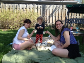 Mother's Day tea party in Detroit