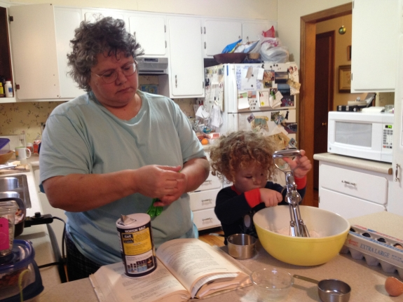 Cooking with Aunt Sas