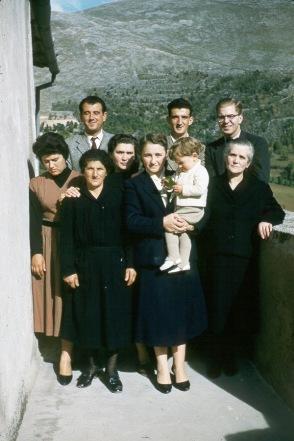 Richard and Family Italy 1955