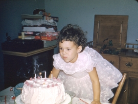 Abby's 4th (looks at that cake!)